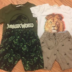Toddler t-shirt and shorts